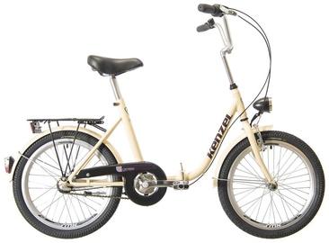 """Велосипед Kenzel Camping 2021, песочный, 16"""", 20″"""