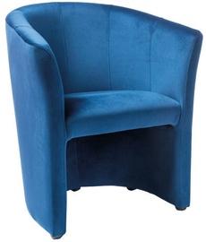 Atzveltnes krēsls Signal Meble TM-1 Velvet Blue, 67x47x76 cm
