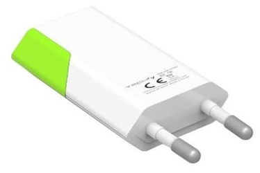Techly Charger USB White/Green