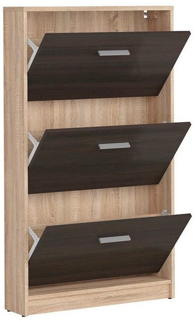 Apavu plaukts Black Red White Nepo Plus Sonoma Oak/Wenge, 700x175x1200 mm