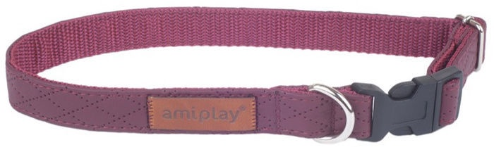 Amiplay Collar Cambrige XL 45-70x2.5cm Purple