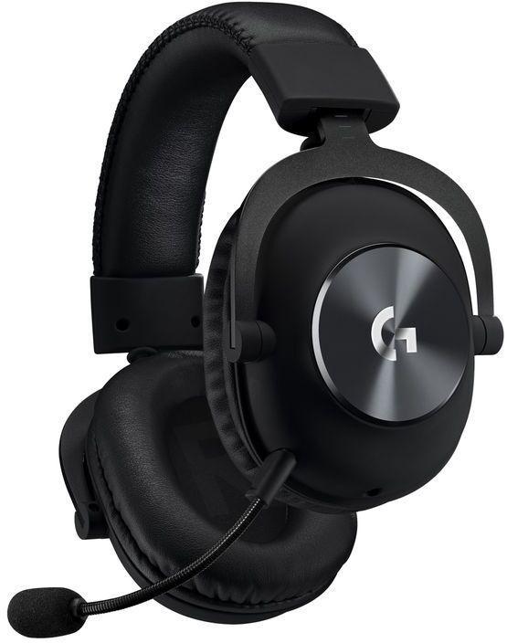 Spēļu austiņas Logitech Pro X Black