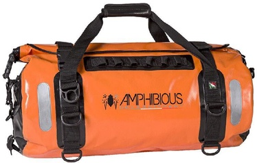 Ceļojuma soma AMPHIBIOUS Voyager Waterproof, oranža, 45 l