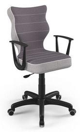 Bērnu krēsls Entelo Norm CR07, melna, 400 mm x 1045 mm
