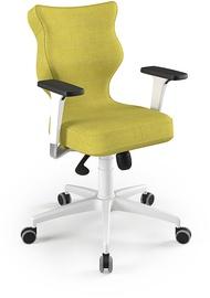 Entelo Perto White Office Chair DC19 Olive
