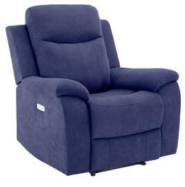 Кресло Home4you Milo 13797, синий, 97 см x 69 см x 103 см