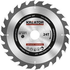 Пильный диск Kreator Sawblade 210x30x2.2mm 24T