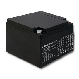 Qoltec AGM Battery 12V 24Ah Max 360A