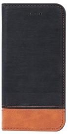 Blun Soft Touch Book Case For Samsung Galaxy J5 J530F Black