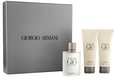 Giorgio Armani Acqua di Gio Pour Homme 50ml EDT + 75ml After Shave Balm + 75ml Shower Gel