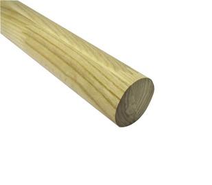 Roku balsts Handrail Ash Wood 45mm 3m