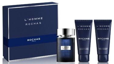 Komplekts vīriešiem Rochas L'Homme Rochas 3pcs Set 300 ml EDT