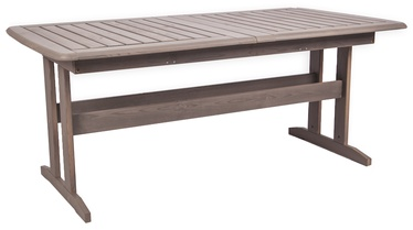 Dārza galds Folkland Timber Bavaria Dark Graphite, 170 - 220 x 90 x 73 cm