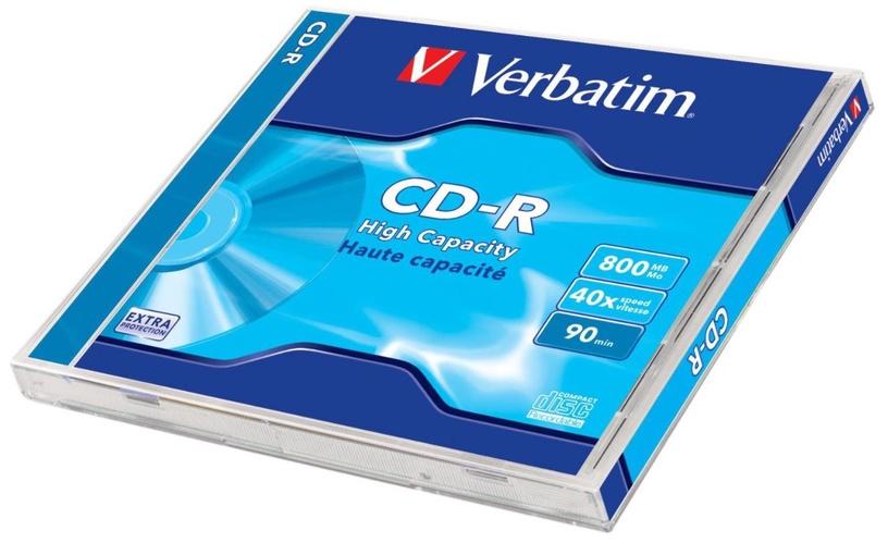 Verbatim CD-R/DL/->40X/JEWEL 800 10pcs