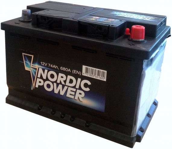 Nordic Battery NP1589
