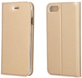 Blun Premium Smart Magnetic Fix Book Case For Samsung Galaxy J5 J530F Gold