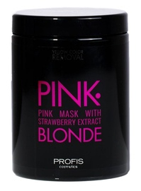 Маска для волос Profis Pink Blonde Mask With Strawberry Extract, 1000 мл