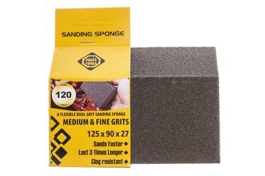 Slīpēšanas sūklis Forte Tools, NR120, 125x90x27 mm, 1 gab.