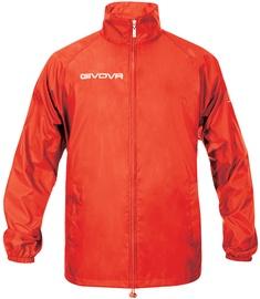 Куртка Givova Basico Rain Jacket Red XL