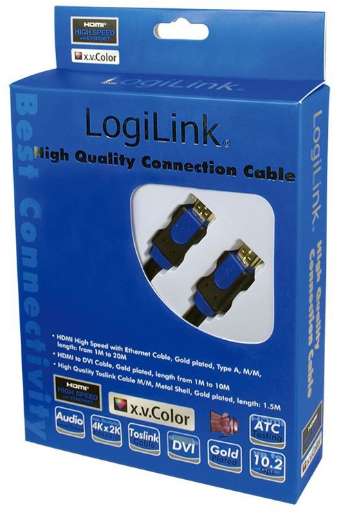 LogiLink Cable HDMI / HDMI Black 10m