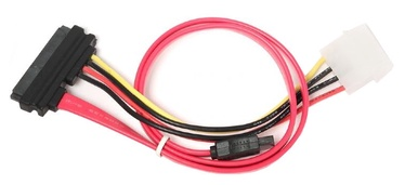 Vads Gembird Cable SATA Power and Data / SATA Data and Molex 0.35m