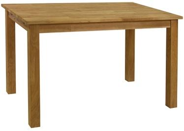 Pusdienu galds Home4you Gloucester 1995 Oak, 1200x750x750 mm