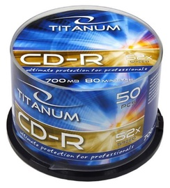 Titanum CD-R 700MB/80min 52x 50pcs
