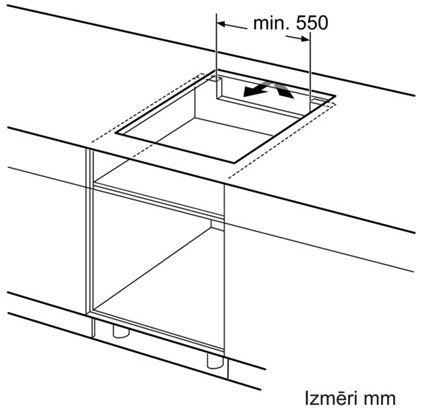 Indukcijas plīts Bosch PIF672FB1E