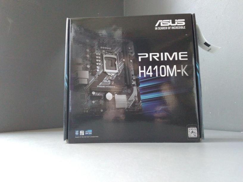 Материнская плата Asus PRIME H410M-K (поврежденная упаковка)