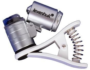 Ультрафиолетовый детектор валют Levenhuk Zeno Cash ZC4 Pocket Microscope Silver