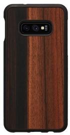 Man&Wood Ebony Back Case For Samsung Galaxy S10e Black