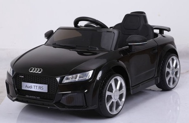 Elektromobīlis bērniem AUDI TT RS 12V melns (WDJE1198)