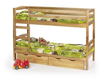 Divstāvīga gulta Halmar Sam Alder, 198x87 cm
