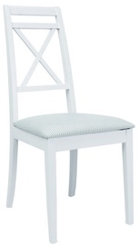 Ēdamistabas krēsls Signal Meble PC-SC White/Light Green