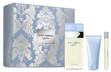 Komplekts sievietēm Dolce & Gabbana Light Blue 3pcs Set 160ml EDT