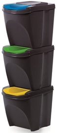 Prosperplast Waste Sorting Box 3x25l
