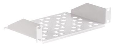 Netrack Equipment Shelf 10'' 1U/150mm Grey