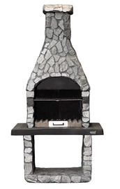 Mustang Pihagrilli Spring Slate Coated Stone Barbecue