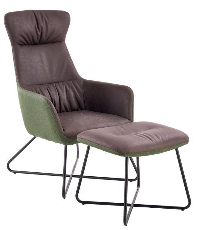 Atzveltnes krēsls Halmar Tinto Dark Grey, 65x83x107 cm