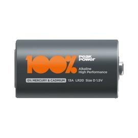 Батарейка 100% PeakPower PP13A-U2 LR20 D Battery 2pcs