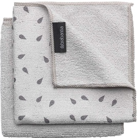 Brabantia Microfibre Dish Cloths 300x300 mm 2pcs Light Grey