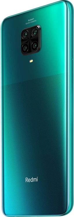 Mobilais telefons Xiaomi Redmi Note 9 Pro, zaļa, 6GB/64GB