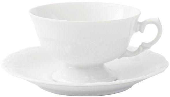 Krūzīte ar apakštasi Porcelana Krzysztof Fryderyka Low Cup 20cl 14cm