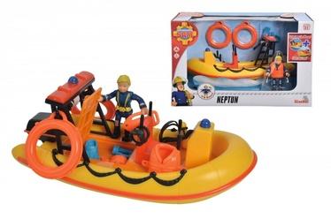 Simba Fireman Sam With Neptun Boat