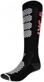 Носки 4F Sport, белый/черный/розовый