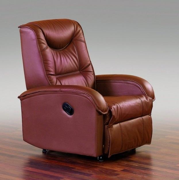Кресло Halmar Jeff, коричневый, 93x85x101 см