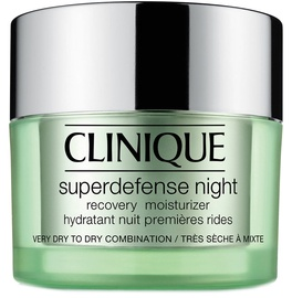 Sejas krēms Clinique Superdefense Night Recovery Moisturizer Dry, 50 ml