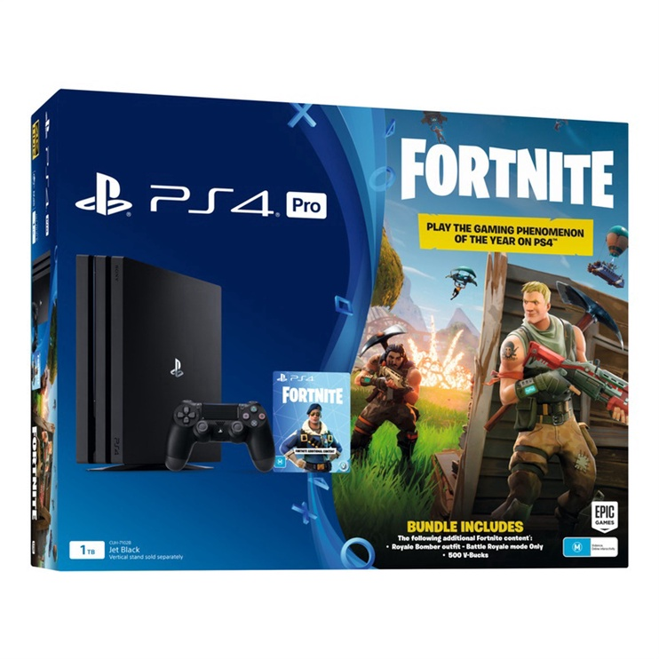 KONSOLE PS4 PRO 1TB + FORTNITE (SONY)