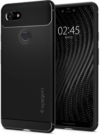Spigen Rugged Armor Back Case For Google Pixel 3 XL Black