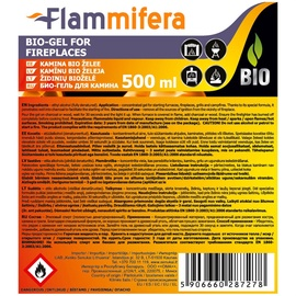 Flammifera Bio-Gel for Fireplaces 0.5L